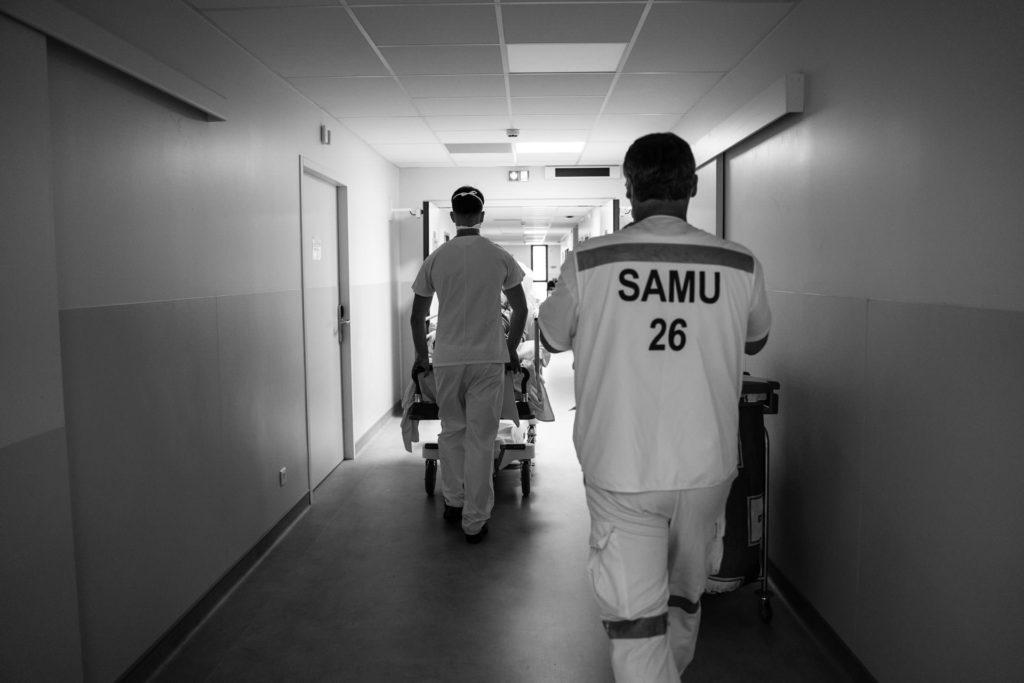Reportage corporate dans la Drome à Montélimar en milieu hospitalier
