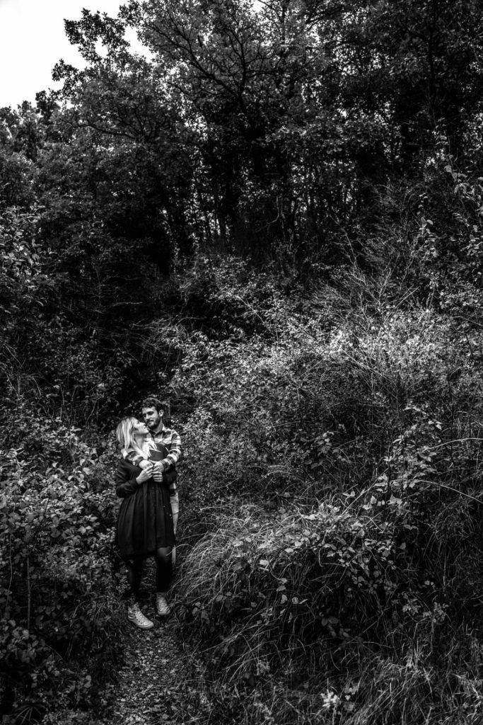 Shooting photo Drome seance engagement couple