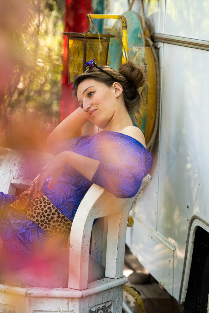photo mode lingerie modele féminin sacre ancrage nature beauté